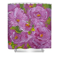 Bouquet Shower Curtain by Judith Rhue