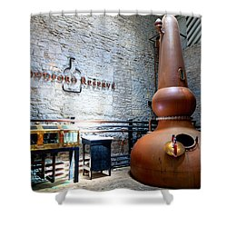 Bourbon Distillery Shower Curtain