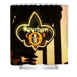 Bourbon Street Bar New Orleans Shower Curtain