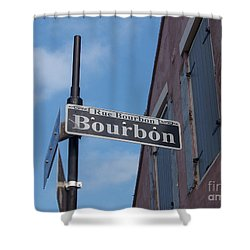 Bourbon Street Shower Curtain by Kevin Croitz