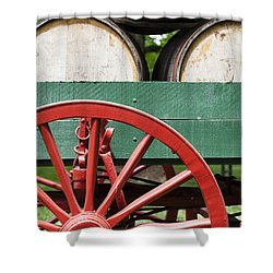 Bourbon Wagon Shower Curtain