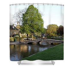 Bourton On The Water 2 Shower Curtain