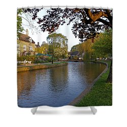 Bourton On The Water 3 Shower Curtain