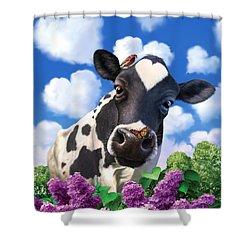 Bovinity Shower Curtain