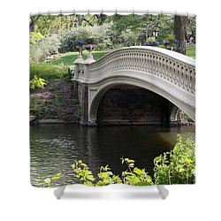 Bow Bridge Iv Shower Curtain by Christiane Schulze Art And Photography