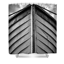 Bow  Shower Curtain by Stelios Kleanthous