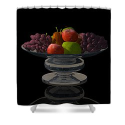 Bowl Of Fruit... Shower Curtain