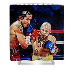 Boxing Shower Curtain