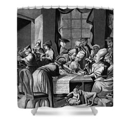 Boycott Of British Tea Shower Curtain by Granger