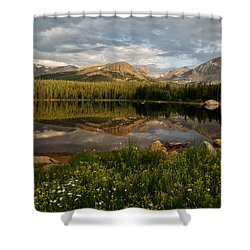 Brainard Lake Shower Curtain