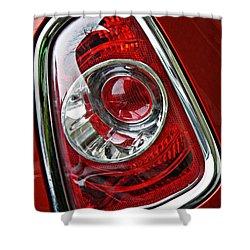 Brake Light 25 Shower Curtain by Sarah Loft