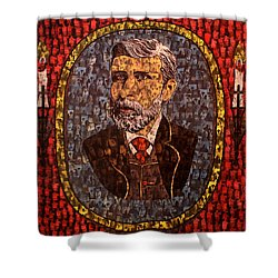 Bram Stoker Shower Curtain