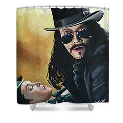 Bram Stoker's Dracula Shower Curtain by Tom Carlton