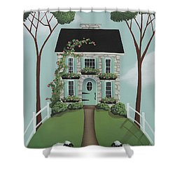 Brambleberry Cottage Shower Curtain by Catherine Holman