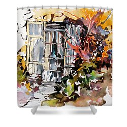 Brambles Shower Curtain by Rae Andrews