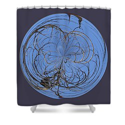Branch Orb Shower Curtain