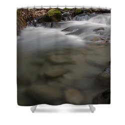 Brandy Creek Bottom Shower Curtain