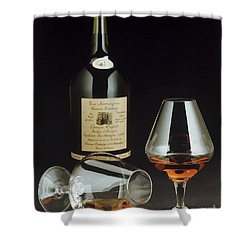 Brandy Shower Curtain by Jerry McElroy