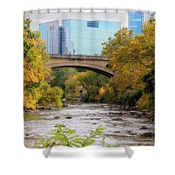 Shower Curtain featuring the photograph Brandywine Creek by Trina  Ansel