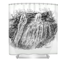 Brandywine Falls - Cuyahoga Valley National Park Shower Curtain