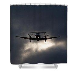 Brasilia Breakout Shower Curtain