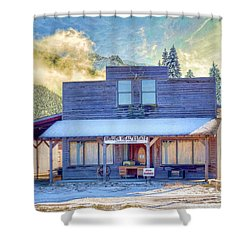 Shower Curtain featuring the photograph Brauer Real Estate Linwood Kansas by Liane Wright