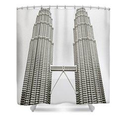 Brave New World Shower Curtain by Shaun Higson