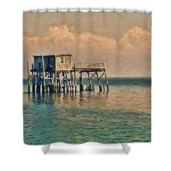 Braving The Elements Shower Curtain