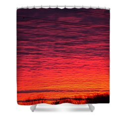 Brawner Farm Shower Curtain
