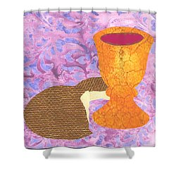 Bread And Cup Shower Curtain