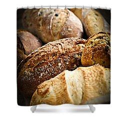 Bread Loaves Shower Curtain by Elena Elisseeva
