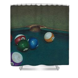 Break Shower Curtain