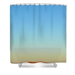 Breakaways Shower Curtain