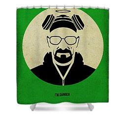 Breaking Bad Poster Shower Curtain by Naxart Studio