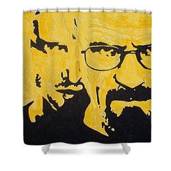 Breaking Bad Yellow Shower Curtain