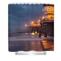 Breaking  Dawn  Shower Curtain by Duncan Selby