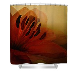 Breath Of The Lily Shower Curtain