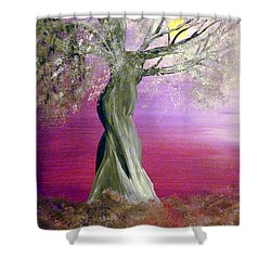 Breath Of Winter 1 Shower Curtain by Alys Caviness-Gober