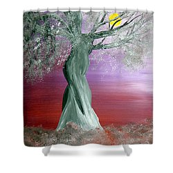Breath Of Winter 2 Shower Curtain by Alys Caviness-Gober