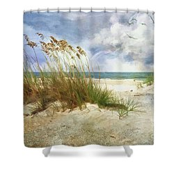 Shower Curtain featuring the photograph Breathe by Linda Blair