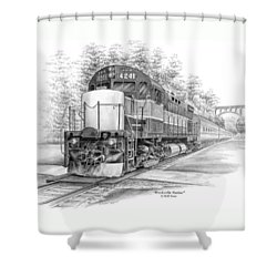 Brecksville Station - Cuyahoga Valley National Park Shower Curtain