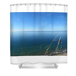 Breeze In Blue Shower Curtain
