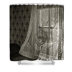 Breeze Shower Curtain by Nikolyn McDonald