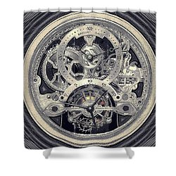Breguet Skeleton Shower Curtain