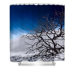 Brewing Sand Storm Shower Curtain