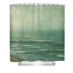 Brewing Storm Shower Curtain by Kim Hojnacki
