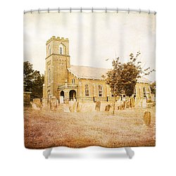 Brick Church In Montgomery Shower Curtain