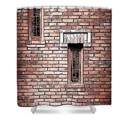 Brick Work Shower Curtain by Melanie Lankford Photography