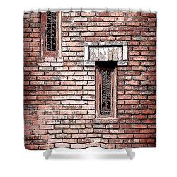 Brick Work Shower Curtain