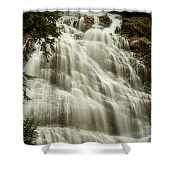 Shower Curtain featuring the photograph Bridal Falls 2 by Sabine Edrissi
